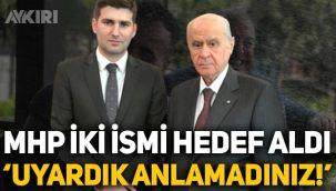 MHP, Atila Kaya ve Suat Başaran'ı hedef aldı: