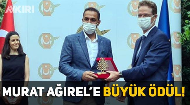 Murat Ağırel'e AB Araştırmacı Gazetecilik ödülü