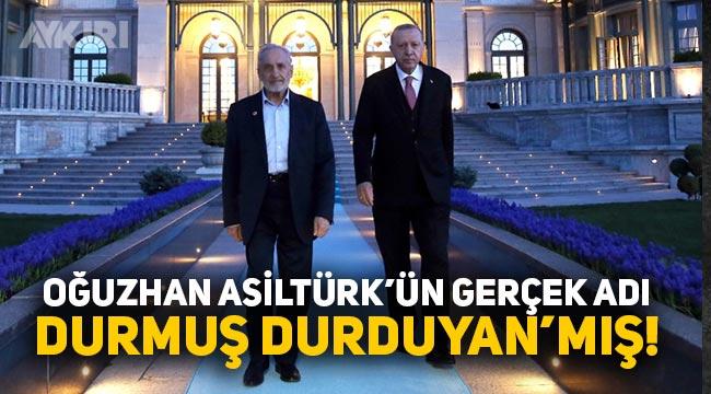 Oğuzhan Asiltürk'ün gerçek adının Durmuş Durduyan olduğu ortaya çıktı