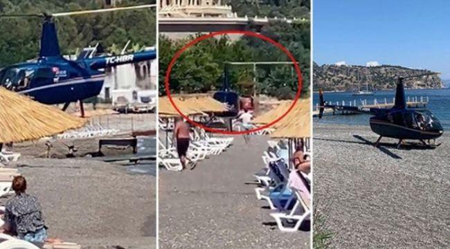 Plaja inen helikopterle ilgili önemli gelişme