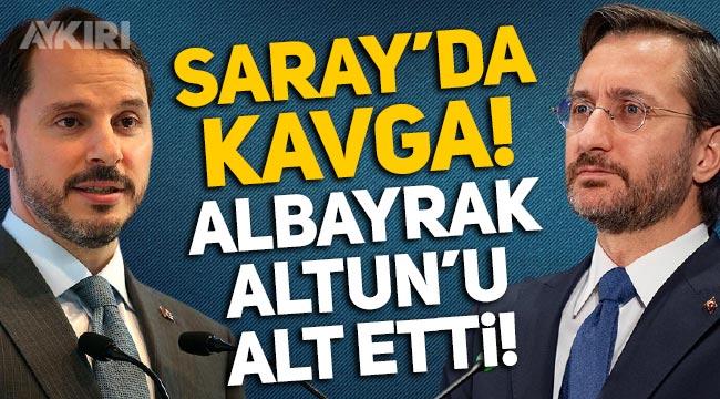 """Saray'da SETA kavgası: """"Albayrak, Fahrettin Altun'u alt etti!"""""""