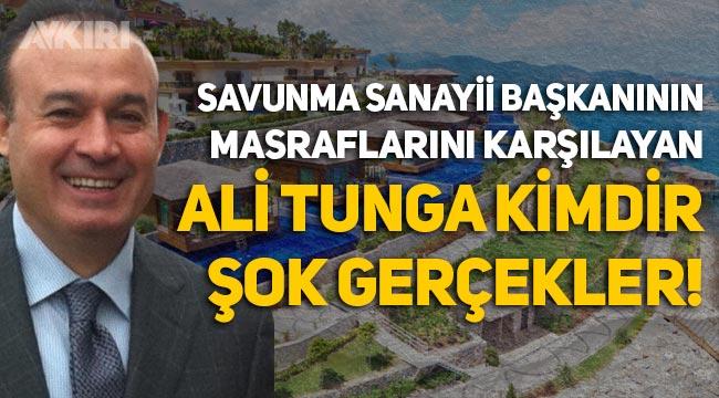 Savunma Sanayii Başkanı İsmail Demir'in otel masraflarını ödeyen Ali Tunga kimdir? Şok gerçekler!