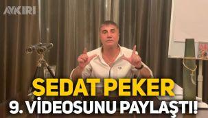 Sedat Peker'den 9. video: Süleyman Soylu, Demirören, Sezgin Baran Korkmaz ve 10 bin dolar alan siyasetçi...