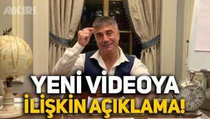 Sedat Peker'den yeni videoya ilişkin açıklama: Veyis Ateş'i hedef aldı