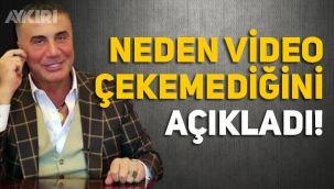 Sedat Peker neden video yayınlamadığını açıkladı