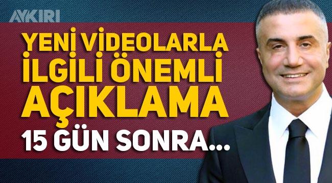 """Sedat Peker yeni videosunu ne zaman yayınlayacak: """"Ülke değiştirebilirim"""""""