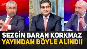 Sezgin Baran Korkmaz, Veyis Ateş'in hangi siyasi adına rüşvet isteyeceğini açıklayacağı an yayından böyle alındı