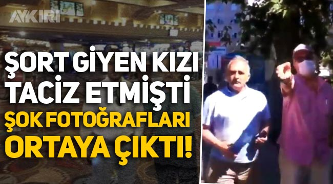 Şort giydiği için Şebnem Tüfekçi'ye taciz ve hakarette bulunan erkeğin şok fotoğrafları!