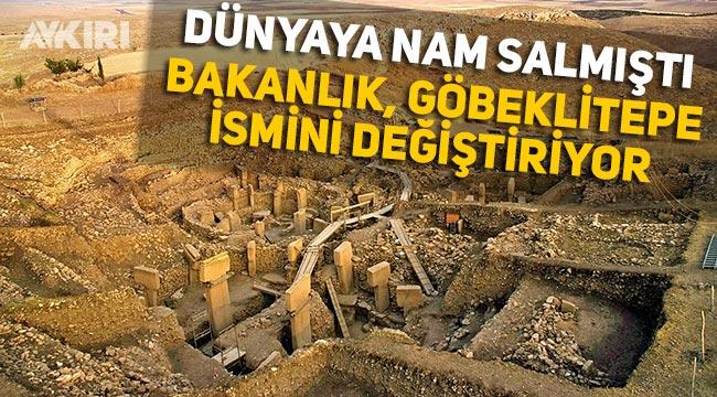 """Turizm bakanlığı Göbeklitepe'nin adını """"12 tepe"""" olarak değiştirdi"""