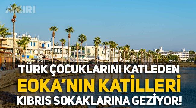 Türk çocukların katilleri, Kıbrıs sokaklarında geziyor!