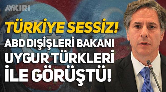 """ABD Dışişleri Bakanı, Uygur Türkleri ile görüştü: """"Çin insanlığa karşı suç işliyor"""""""