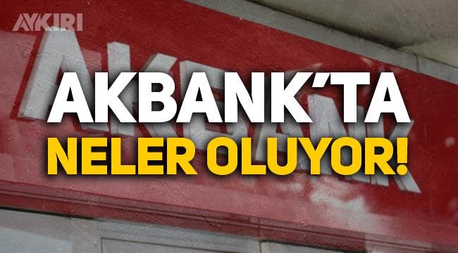 Akbank'ta neler oluyor? Sorun çözüldü mü, Akbank'tan yeni açıklama!