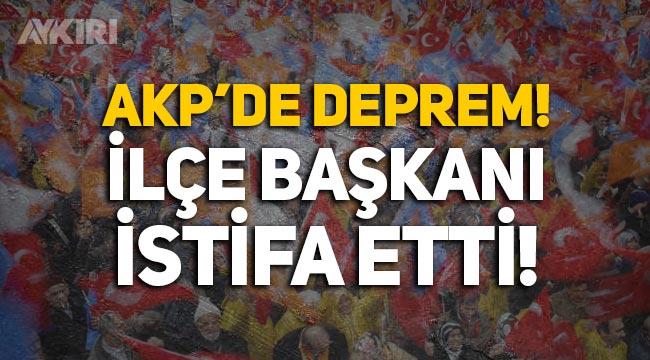 AKP'de deprem: İlçe Başkanı Nazmi Tok görevinden istifa etti!