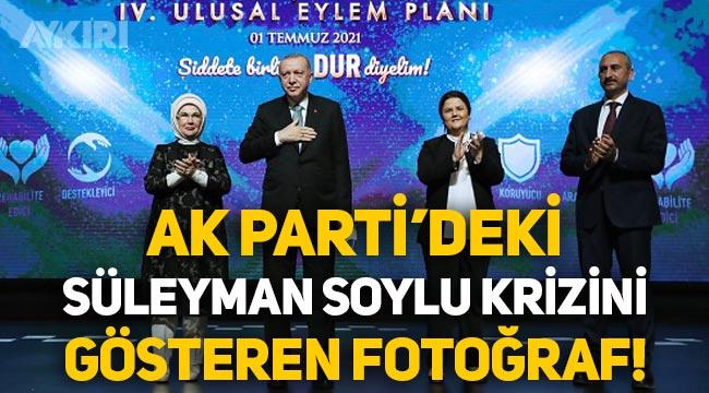 AKP'deki Süleyman Soylu krizini gösteren fotoğraf!