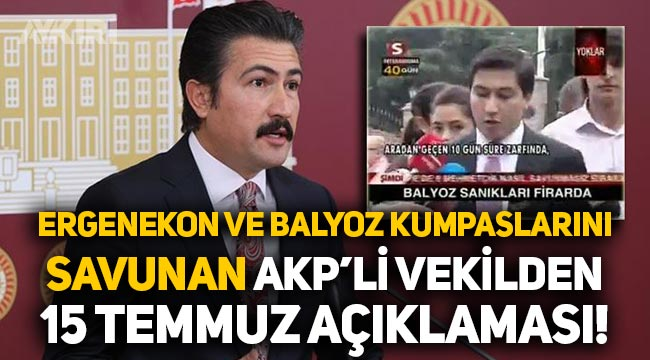 """AKP'li Cahit Özkan'dan """"15 Temmuz"""" açıklaması!"""