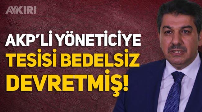 AKP'li Esenler Belediyesi'nin geri dönüşüm tesisini AKP'li yöneticiye bedelsiz devrettiği ortaya çıktı!