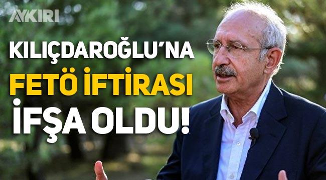 AKP'li hesaplardan Kemal Kılıçdaroğlu'na FETÖ iftirası!