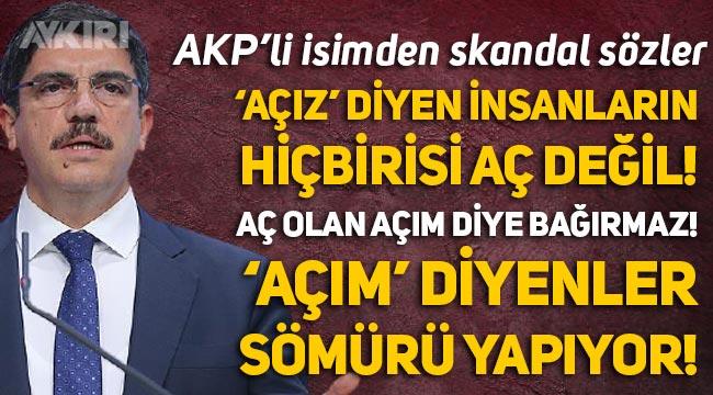 """AKP'li Yasin Aktay: """"Aç olan 'açım' diye bağırmaz, 'açım' diyen sömürü yapıyordur"""""""