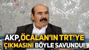 AKP, Osman Öcalan'ın TRT'ye çıkmasını bu sözlerle savundu!