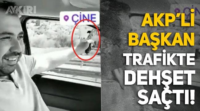 AKP yöneticisi Cemal Başaran trafikte dehşet saçtı: Silahla rastgele ateş açtı!
