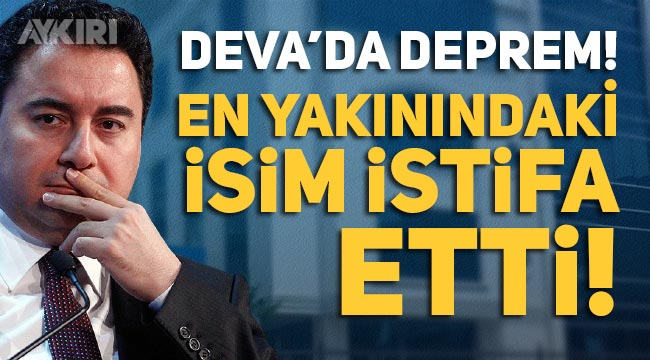Ali Rıza Babaoğlan DEVA Partisi'nden istifa etti