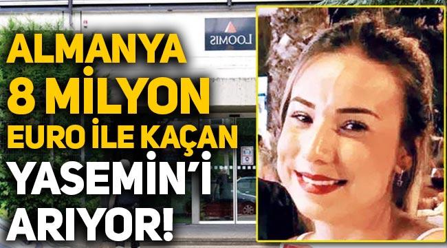 Almanya, Yasemin Gündoğan'ı arıyor: 8 milyon euro ile kaçtı, polis halktan yardım istedi!