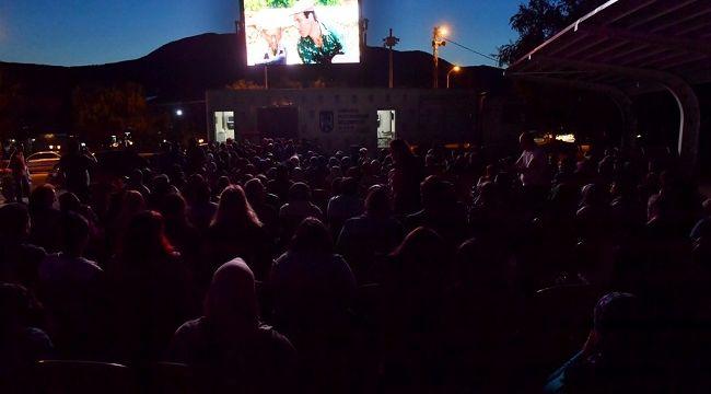 Ankara Büyükşehir Belediyesi'nden açık havada sinema etkinliği