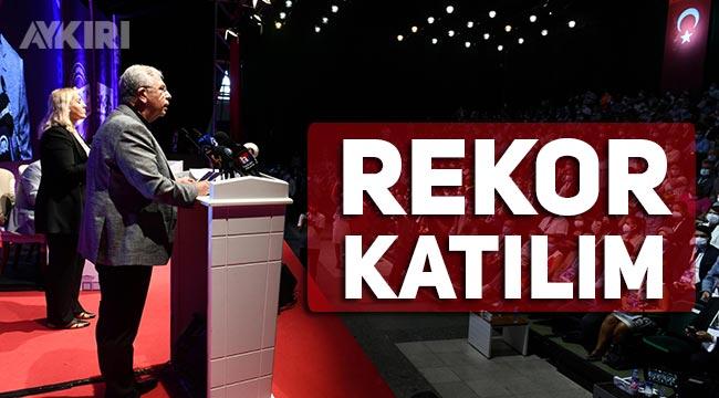 Ankara Kent Konseyi'nin Genel Kurulu'nda rekor kırıldı