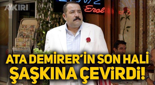 Ata Demirer'in son hali görenleri şaşkına çevirdi