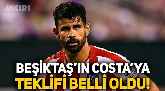 Beşiktaş'ın Diego Costa'ya teklifi belli oldu