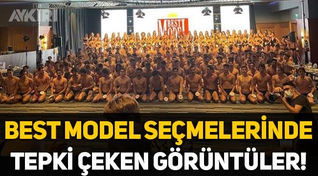 Best Model Türkiye 2021 seçmelerinde tepki çeken görüntüler!