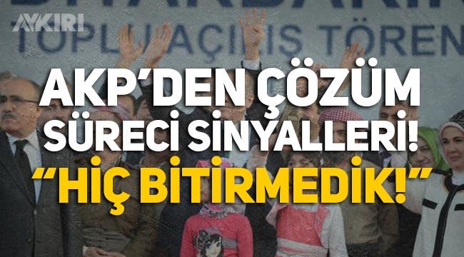 """""""Biji Serok Erdoğan"""" sloganları sonrasında AKP'den sözde çözüm sürecine yeşil ışık: Hiç bitirmedik!"""