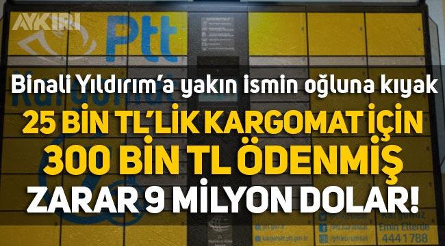 Binali Yıldırım'a yakın ismin oğluna PTT'den ihale: 25 bin liralık kargomata 300 bin TL ödemiş, zarar 9 milyon dolar