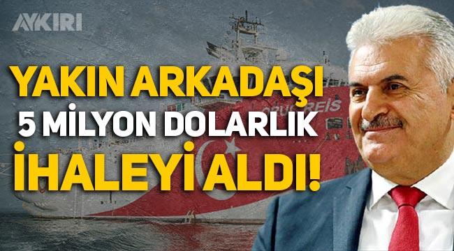Binali Yıldırım'ın yakın arkadaşı Oruç Reis gemisinin 5 milyon dolarlık ihalesini aldı!