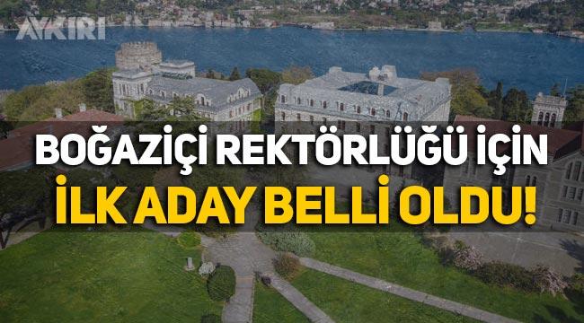 Boğaziçi Üniversitesi Rektörlüğü için ilk aday Erhan Erkut oldu!