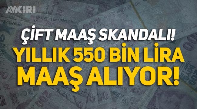 Çift maaşlılara belediye başkanı da eklendi! Yıllık 550 bin TL maaş