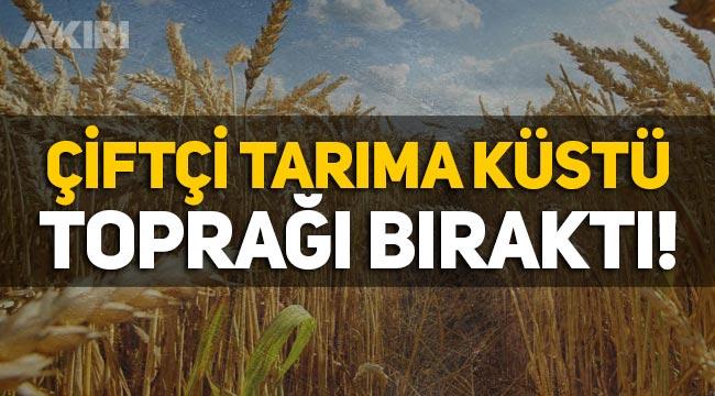 Çiftçi tarıma küstü! Son 1 yılda 46 bin çiftçi toprağı bıraktı