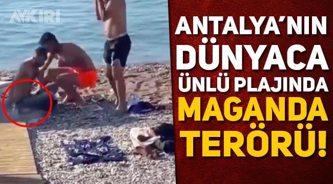 Dünyaca ünlü plajda maganda dehşeti!