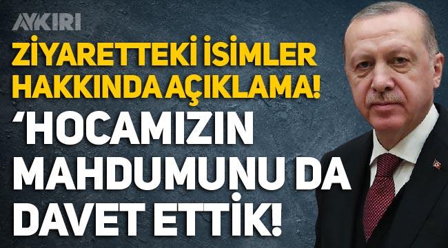 Erdoğan'dan Kıbrıs ziyaretindeki isimler hakkında açıklama!