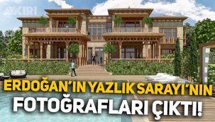 Erdoğan'ın Marmaris'teki Yazlık Sarayı'nın fotoğrafları ortaya çıktı!
