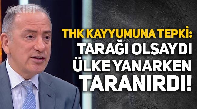 """Fatih Altaylı'dan THK kayyumu Cenap Aşçı'ya: """"Keşke tarağı olsaydı. Ülke yanarken taranırdı"""""""