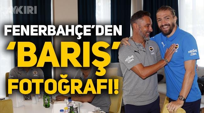Fenerbahçe'den Vitor Pereira ile Caner Erkin fotoğrafı!