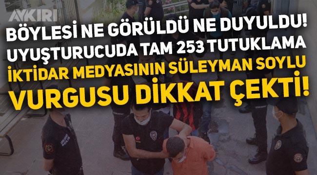 Gaziantep'deki uyuşturucu operasyonunda yüzlerce kişi tutuklandı!