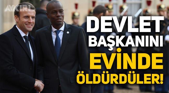 Haiti Devlet Başkanı Jovenel Moise, evinde öldürüldü!