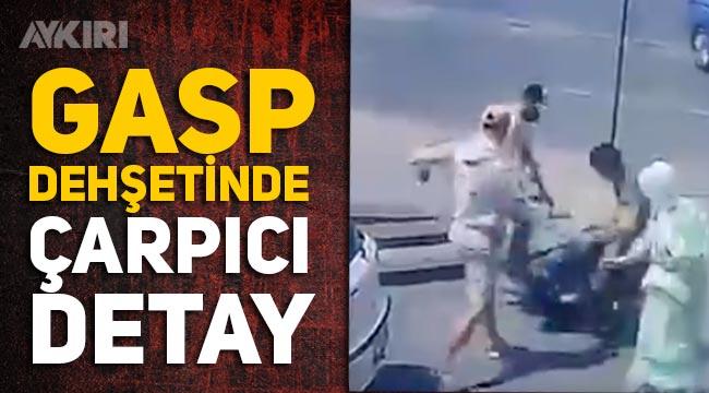 İstanbul'da gasp dehşeti! Yabancı uyruklu 3 kişi, çantalı adama böyle saldırdı