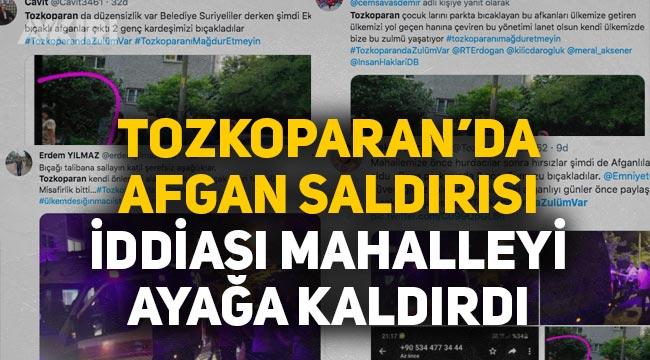 İstanbul Tozkoparan'da Afganlar 2 genci bıçakladı iddiası
