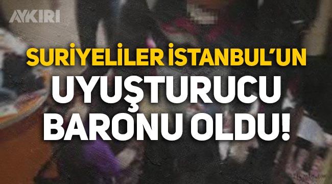 Jandarma'dan operasyon: Suriyeliler İstanbul'un uyuşturucu baronu oldu!
