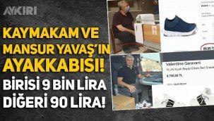 Kaş Kaymakamı Şaban Arda Yazıcı ve Mansur Yavaş'ın ayakkabısı: Biri 9 bin lira diğer 90 lira!