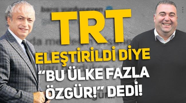 """Levent Özçelik'in hatası ortalığı karıştırdı! TRT muhabiri Barış Yurduseven, eleştirilere """"Bu ülke fazla özgür"""" dedi"""
