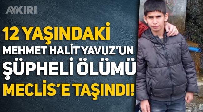 Mehmet Halit Yavuz'un şüpheli ölümü Meclis gündeminde!